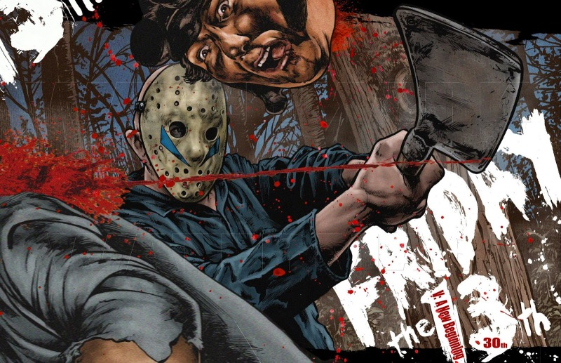 Friday the 13th: A New Chapter artwork by Nathan Thomas Milliner